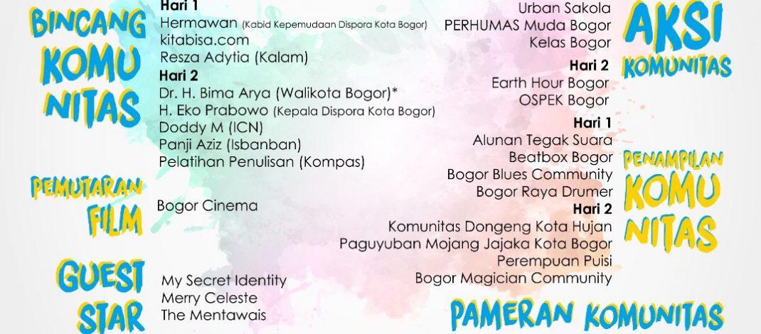 Event : Bogor Hujan Komunitas 2017