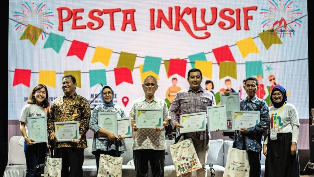 Ulang Tahun Yang Pertama, Konekindonesia Gelar Pesta Inklusif